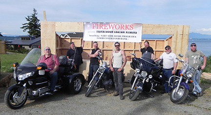 Fireworks Stand To Benefit Good Cheer and Safe Ride Home