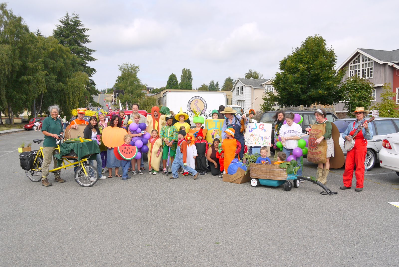 Join Good Cheer in the August 17 Whidbey Island Fair Parade