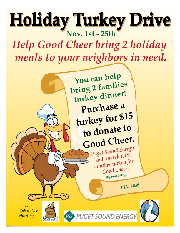 Help Our Food Bank Clients Have a True Thanksgiving Meal