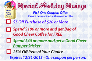 2014 Holiday Coupon