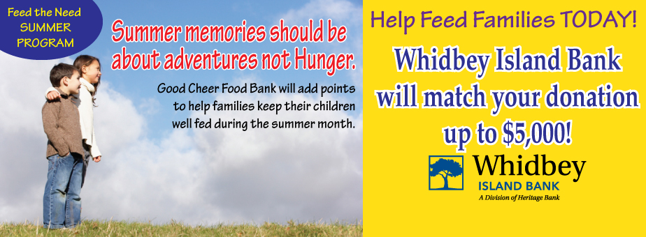 Summertime and Hungry Families – Help us feed the kids
