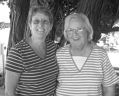 Kathy and Joy